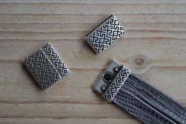 Metalen Magnetverschluss 20 mm ca. 20 x 23 mm pro stück