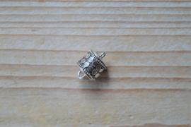 Sterling zilver magneetsluiting ca. 10 x 14 mm