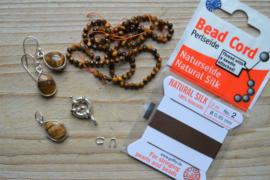 DIY pakket collier Tijgeroog