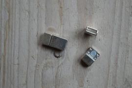 Metalen Magnetverschluss 5 mm ca. 7 x 16 mm pro stück