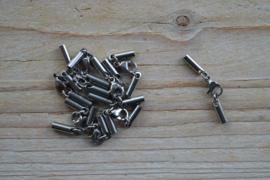 Einddopjes met sluiting (roestvrij staal)ca. 3 x 30 mm (per setje)