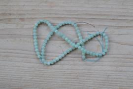 Amazoniet runde Perlen A klasse 4 mm