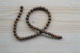 Bronzit runde Perlen 8 mm