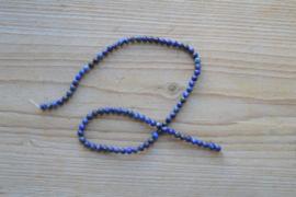 Lapis Lazuli runde Perlen 4 mm (ungefarbt)