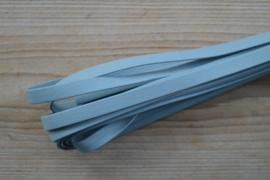Flaches nappaleder 10 mm Hellblau pro 10 cm