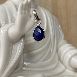 Sterling zilveren hangertje met Lapis Lazuli