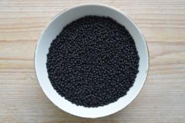 Miyuki 8-401F Opaque Matte Black (per 10 gram)
