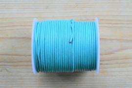 Rundleer 2 mm Turquoise per meter