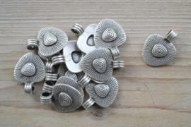 Metalen hanger ca. 23 x 30 mm per stuk