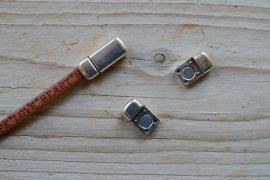 Metalen Magnetverschluss 5 mm ca. 9 x 21 mm pro stück