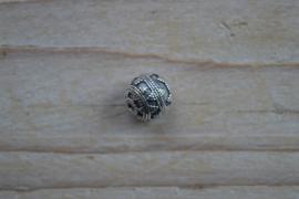 Kraal sterling zilver ca. 11,5 mm