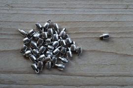 Metalen eindkap 3 mm ca. 6 x 9 mm per 2 stuks