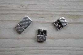 Metalen Magnetverschluss 10 mm ca. 14 x 24 mm pro stück