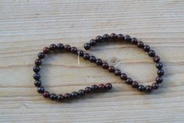 Rote Jaspis runde Perlen ca. 8 mm