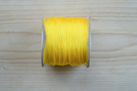 Nylonkoord dikte ca. 0,8 mm Geel per 2 meter