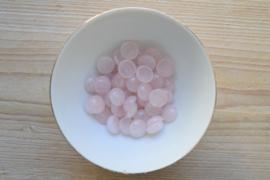 Rozenkwarts coin cabochon ca. 14 mm