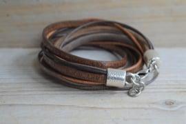 DIY Pakete Armband XL K Braun