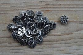 Metalen leerschuif rond ca. 13 mm per stuk