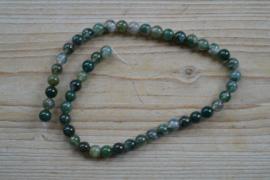 Mos Achat runde Perlen 8 mm