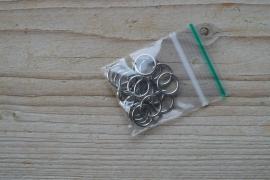 Metalen ringetjes open 12 mm