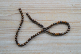 Bronzit runde Perlen 6 mm