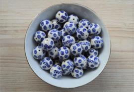 Delft Blaue Perle 'Holland' ca. 18 mm (pro Stück)