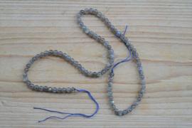 Labradoriet ronde kralen 4 mm A klasse