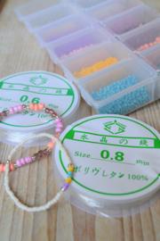 Rocailles Pakket met elastiek