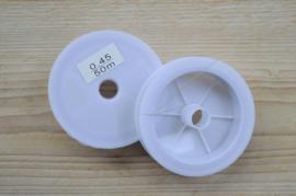 Rol gecoat staaldraad 50 meter dikte 0,45 mm