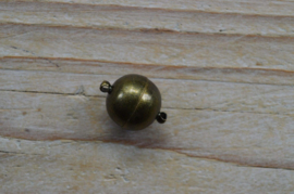 Bronskleurige Bolmagneet diameter 14 mm