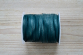 Rindleder 2 mm Forrest Grün pro meter