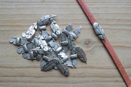 Metalen leerschuif veer ca. 7 x 21 mm per stuk