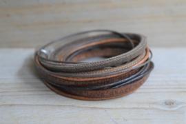 DIY Pakket Armband XL K Bruin