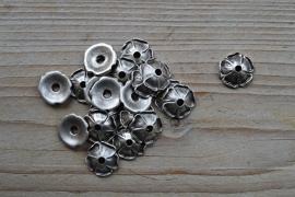 Metalen kraalkap ca. 17 mm per 10 stuks
