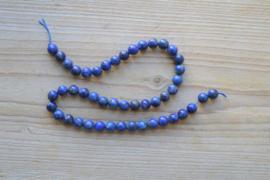 Lapis Lazuli runde Perlen 8 mm (ungefarbt)