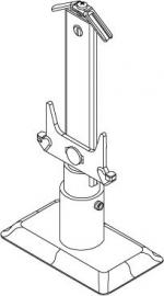 Plint standconsole opbouw types 22, 33 en 44 kleur RAL9016