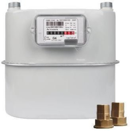 Gasmeters en watermeters