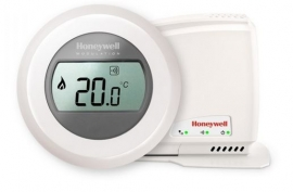 Honeywell Round Connected Modulation kamerthermostaat Opentherm Y87C2004