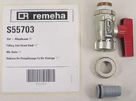 Remeha vul en aftapkraan S55703