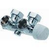 Hummel Design thermostaat onderblok haaks 1Pijps chroom