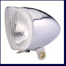 Koplamp Chroom oud model  artnr: LA230010