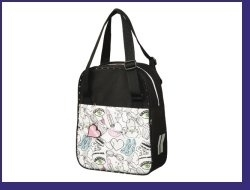 Tas enkel/shopper kind Girls Rock artnr: 412320