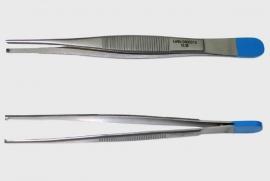Chirurgisch Pincet, 14cm, 1x2 tand, medium, steriel