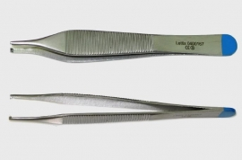 Adson Chirurgisch Pincet, 12cm, 1x2 tand, steriel