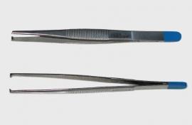 Chirurgisch Pincet, 13cm, 1x2 tand, steriel
