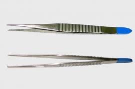 Gillies Chirurgisch Pincet, 15,5cm, 1x2 tand, fijn, steriel