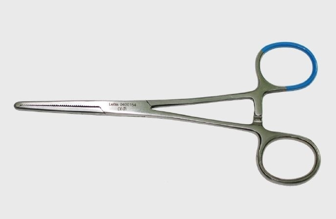 Kocher-Ochsner, 14cm, 1x2 tand, steriel