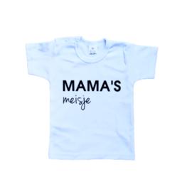 T-shirt | Mama's meisje