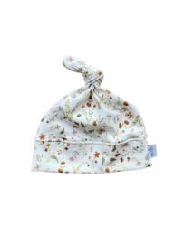 Knoopmutsje Newborn | Millefleur