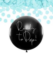 Ready to pop!   Gender reveal ballon (1m)   BOY